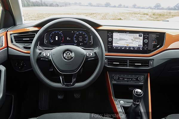 vw polo interieur 260917