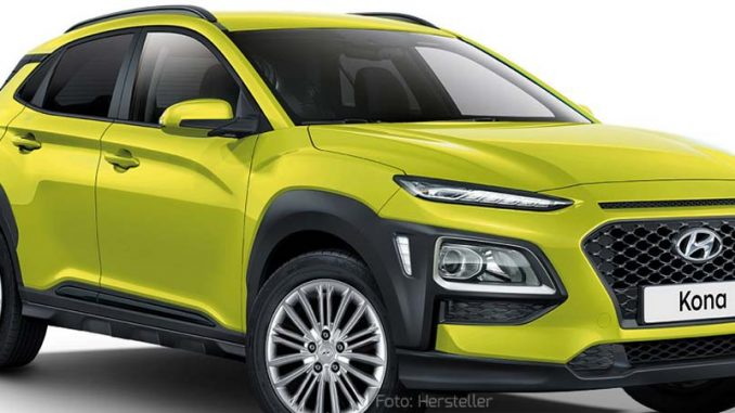 Hyundai Kona Sonderedition Yes